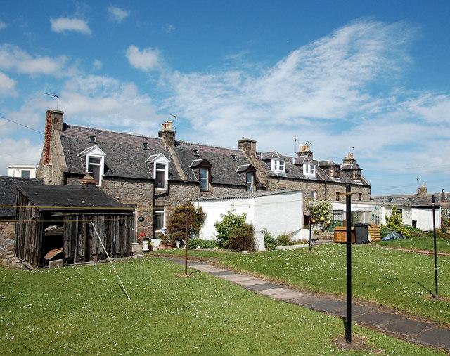 Footdee cottages...