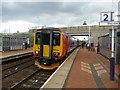 SK5057 : Sutton Parkway railway station by Graham Hogg