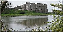SN0403 : Carew Castle by M H Evans