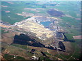 NS8537 : Broken Cross Muir opencast mine by M J Richardson