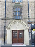 NZ2364 : Westgate Hall Buildings - entrance in Corporation Street, NE4 by Mike Quinn
