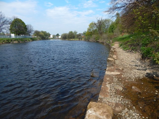 Embankment of the River Leven