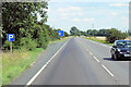 TF5318 : Layby on Eastbound A17 near Bunting's Well by David Dixon