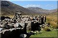 NN1264 : Ruins of Lairigmòr by Chris Heaton