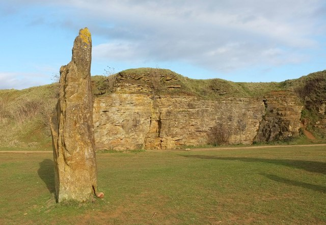 Stone, Millennium Stone Circle on Ham Hill