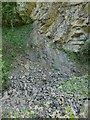 SD9952 : Rockfall in the Springs Canal, Skipton by Stephen Craven