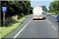 TF5418 : Layby on Westbound A17 near Terrington St Clement by David Dixon