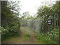 TQ7049 : Private entrance to the River Beult, near Yalding by David Howard