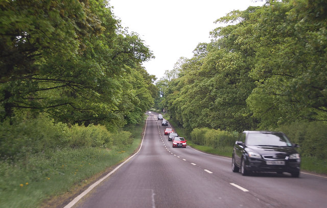 A635 east of Hickleton