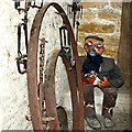 SP2304 : Inside the village lock-up, Swinford Museum, Filkins by Brian Robert Marshall
