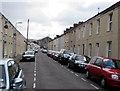 SS7597 : On-street parking, Allister Street, Neath by Jaggery