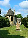 SP2304 : Church of St Peter, Filkins by Brian Robert Marshall