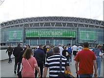 TQ1985 : Wembley Stadium by Richard Webb