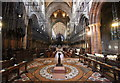 SJ4066 : Lectern and Choir of Chester Cathedral by Jeff Buck