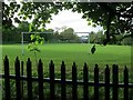 SE2634 : Football pitch west of Gotts Park  by Stephen Craven