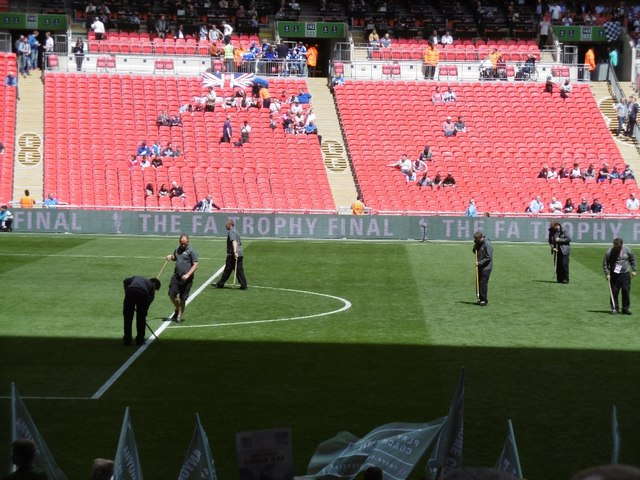 Ground staff, Wembley