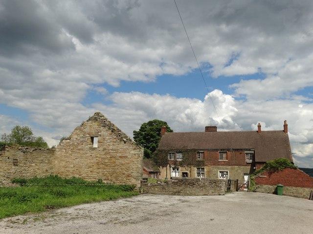 Abandoned Castle Farm near Codnor Castle