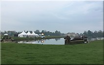 ST8083 : Badminton Horse Trials 2016: the Lake early on cross-country day by Jonathan Hutchins