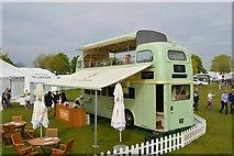 ST8083 : Badminton Horse Trials 2016: bus bar by Jonathan Hutchins