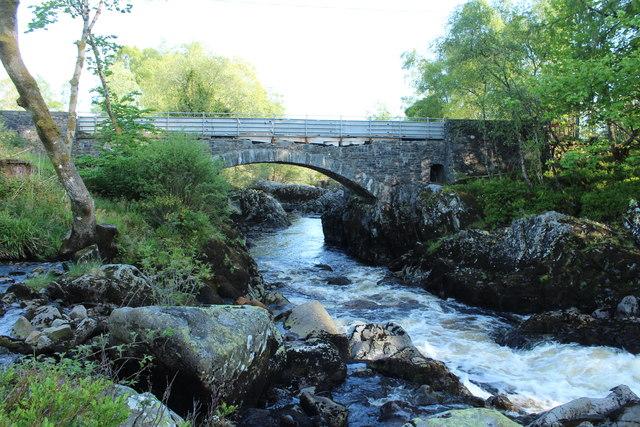 Water of Minnoch at Stroan Bridge