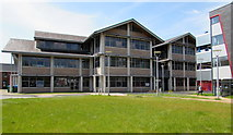 SS7597 : Neath Civic Centre by Jaggery