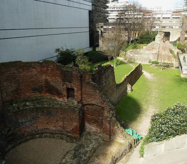 Remains of the City Wall - City of London