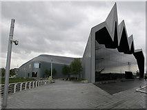 NS5565 : Riverside Museum, Glasgow by David Hawgood