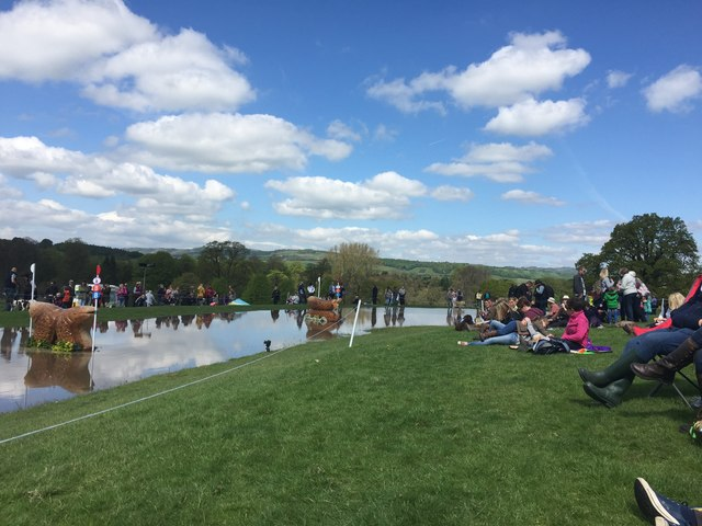 Chatsworth Horse Trials: the Ice Pond