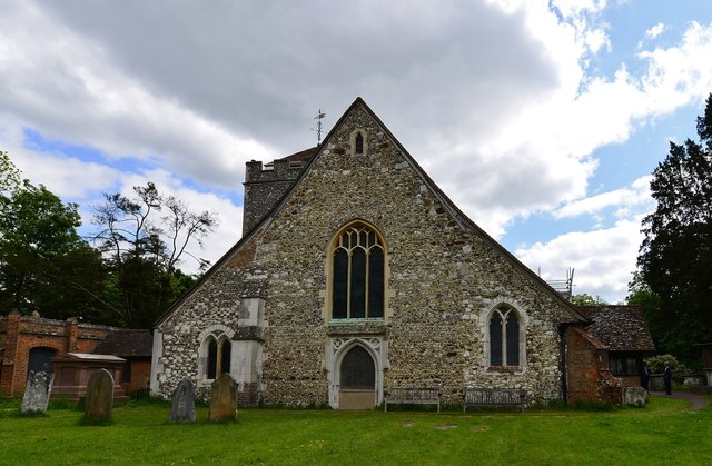 Stoke Poges: St. Giles' Church: Western aspect