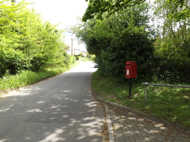 Westerfield Lane & Oak Cottage Postbox
