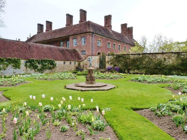 The White Garden, Barrington Court , Somerset