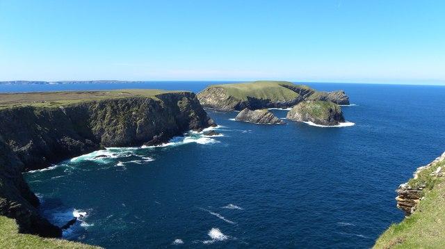 The wild coast of north west Mayo