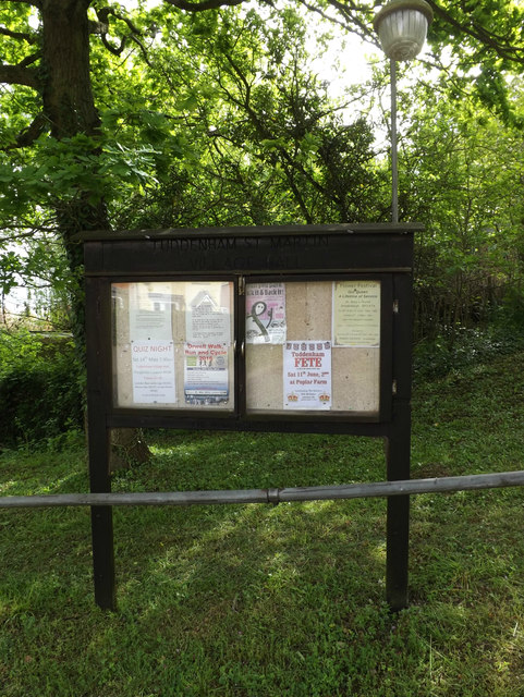 Tuddenham St.Martin Village Notice Board