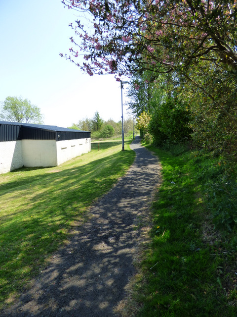 Cycle path at Bridgend