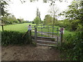 TM1948 : Footpath to Broom Hill by Geographer