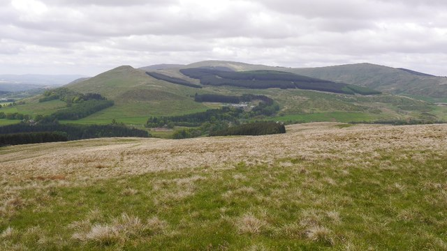 Southern slopes of Thornton Hill