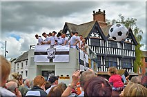 SO5140 : Hereford FC's conquering heroes by Philip Pankhurst