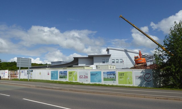 Keele University: extension to David Weatherall Building