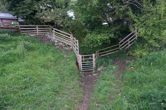 Path to the River Bradford
