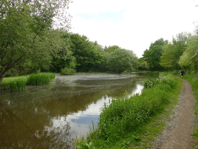 Winding hole on the Macclesfield Canal