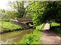 SJ9276 : Bridge 29 on the Macclesfield Canal by Graham Hogg