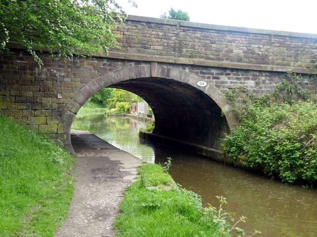 Bridge 34 on the Macclesfield Canal