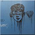 SP0688 : Graffiti, Vyse Street, Birmingham Jewellery Quarter by Robin Stott