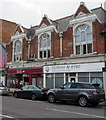 SZ0791 : Forever & Ever and The Big Issue office in Bournemouth by Jaggery