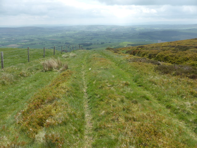 Rough bridle path on Bache Hill