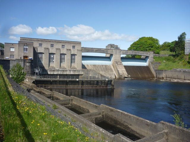 Perthshire Architecture : Pitlochry Dam And Power Station