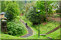 NN6208 : Pathway between Ancaster Road and Glenartney Road by Trevor Littlewood