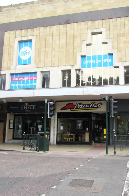 Pizza Hut And Enzee Bournemouth Jaggery Geograph