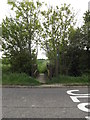 TM1853 : Footpath off the B1078 Swilland Road by Adrian Cable