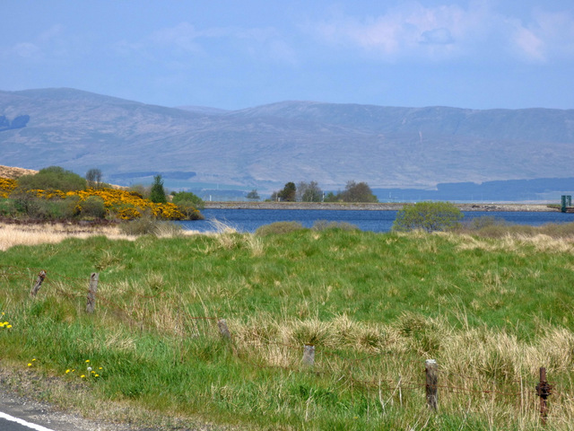 Knocknairs Hill reservoir